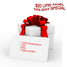 lipid panel cholesterol hdl ldl special